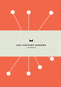 Mid-Century Modern: Notebooks: Set of 3 Cover
