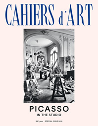 Cahiers d'Art Special Issue, 2015: Picasso in the Studio Cover
