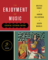 The Enjoyment of Music, Essential Listening, Second Edition