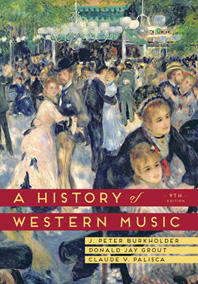 A History of Western Music, Ninth Edition