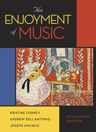 The Enjoyment of Music, 12e Shorter