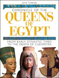 Chronicle of the Queens of Egypt: From Early Dynastic Times to the Death of Cleopatra Cover