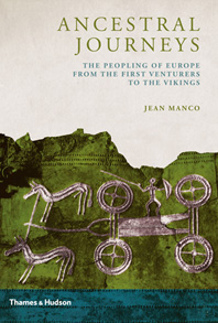 Ancestral Journeys: The Peopling of Europe from the First Venturers to the Vikings Cover