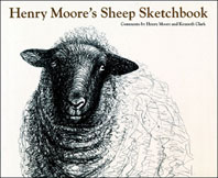 Henry Moore's Sheep Sketchbook Cover