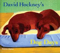 David Hockney's Dog Days Cover