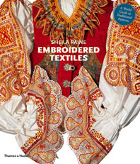Embroidered Textiles: A World Guide to Traditional Patterns Cover