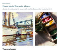 Paint with the Watercolor Masters Cover