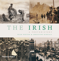 The Irish: A Photohistory Cover