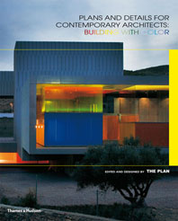Plans and Details for Contemporary Architects: Building with Color Cover