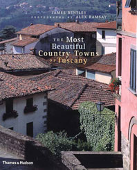 The Most Beautiful Country Towns of Tuscany Cover