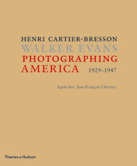 Photographing America: Henri Cartier-Bresson / Walker Evans Cover