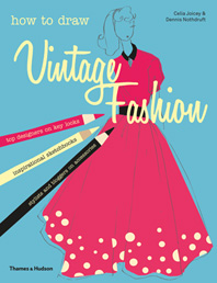 How to draw vintage fashion Cover
