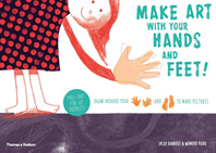 Make art with your hands and feet: Draw around your hands and feet to create pictures Cover