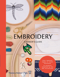 Embroidery: A Maker's Guide Cover