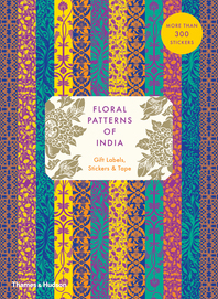 Floral Patterns of India: Gift Labels, Stickers and Tape Cover
