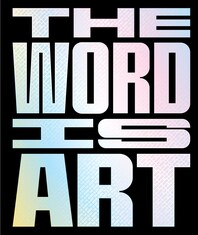 The Word is Art Cover