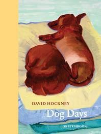 David Hockney Dog Days: Sketchbook Cover