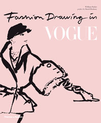 Fashion Drawing in Vogue Cover