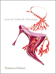 Manolo Blahnik Drawings Cover