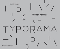 Typorama: The Graphic Work of Philippe Apeloig Cover