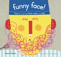 Funny Face!: Find the surprises! Draw, color and fold! Cover