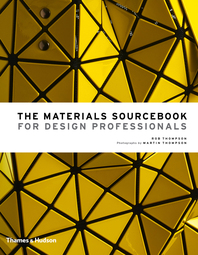 The Materials Sourcebook for Design Professionals Cover