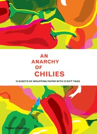 An Anarchy of Chilies Gift Wrap Cover
