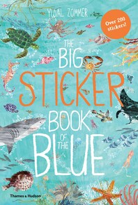 The Big Sticker Book of Blue Cover