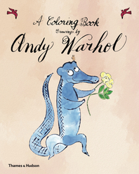 A Coloring Book, Drawings by Andy Warhol Cover