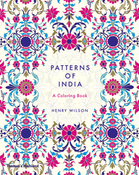 Patterns of India: A Coloring Book Cover