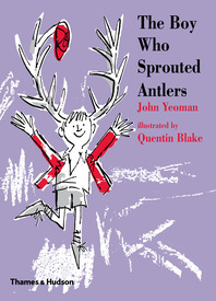 The Boy Who Sprouted Antlers Cover