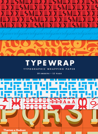 Type Wrap: 10 Sheets of Wrapping Paper with 12 Gift Tags Cover
