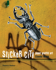 Sticker City: Paper Graffiti Art Cover