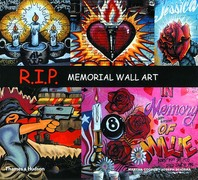 R.I.P: Memorial Wall Art Cover