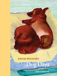 David Hockney Dog Days: Sketchbook Cover