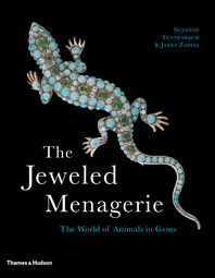 The Jeweled Menagerie: The World of Animals in Gems Cover
