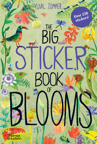 The Big Sticker Book of Blooms Cover